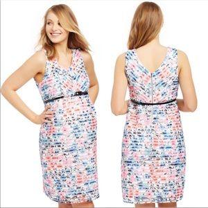 Motherhood Jacquard Floral Lace Dress size M